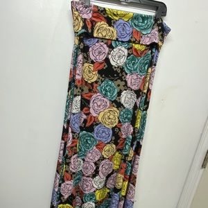NWOT LuLaRoe Maxi Skirt. Size XL.